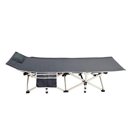 soges Lettini Letto da campeggio pieghevole portatile da campeggio, letto per dormire leggero,CT-F10-71M