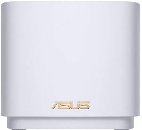 Asus - zenwifi ax dual-band mesh wi-fi system (3-pack) - white 3