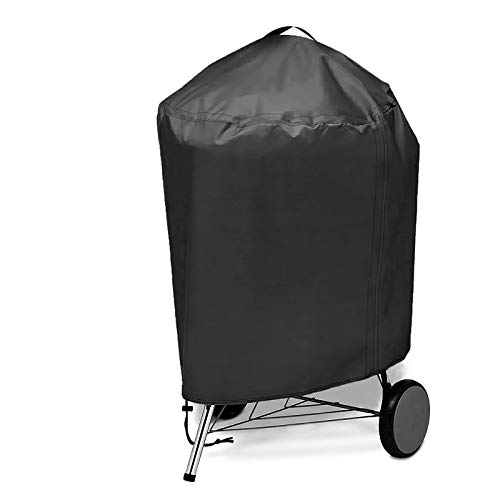 IREGRO Copertura Barbecue Impermeabile, Telo Protettivo Per BBQ Grill Per Griglia A Gas Piccola Antivento/UV/Impermeabile, Resistente Allo Strappo 420D Oxford