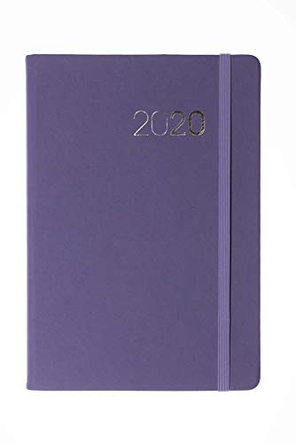 Collins Legacy A5 Week to View 2020 Diary - Lilac