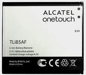 Batteria OEM 1800mAh Alcatel TLiB5AF CAB32E0002C1 per Alcatel One Touch 997, PopC5, X Pop, OT-5035