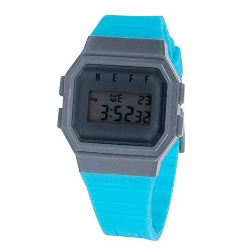 Neff Men's NF0204-pink Old School Digital Design Soft PU Strap Watch