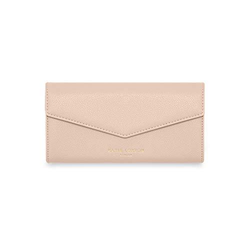 Katie Loxton Esme Womens Vegan Leather Envelope Clutch Wallet Pink Size: 4 x 8 x 1