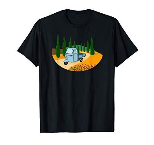 Ape Oldtimer Toskana Italien T-Shirt