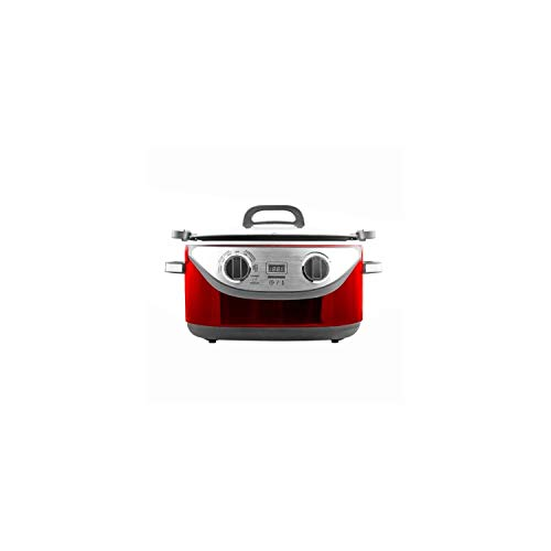 KitchenCook 5.61350WRG Multicuiseur Cocotte Rouge 1350 W