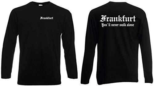 World of Shirt Frankfurt Longsleeve T-Shirt Ultras Herren S-XXL