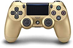 PS4 Gold Dualshock 4 Wireless Controller Sony PlayStation 4