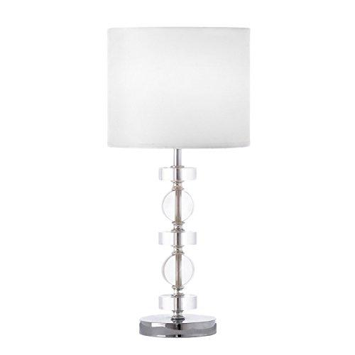 Lámpara de mesa metal/acrílico 22 x 22 x 47,40 cm