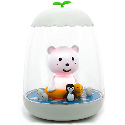 Petit Akio Oso Polar - Lámpara, unisex