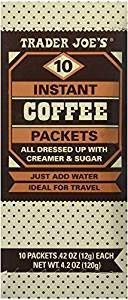 Trader Joes Instant Coffee Packets 3 boxes of 10 packet each