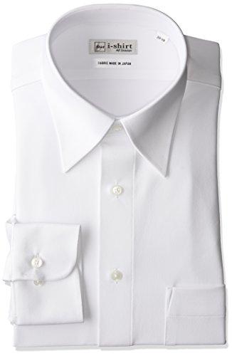 [アイシャツ] i-shirt 完全ノーアイロン ストレッチ 超速乾 レギュラーフィット 長袖 アイシャツ ワイシャ...