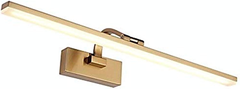 Matte moderne Badezimmer Beleuchtung Schminktisch Metall Wandleuchte 16 W   71.0  21.0  11.0 (Cm)
