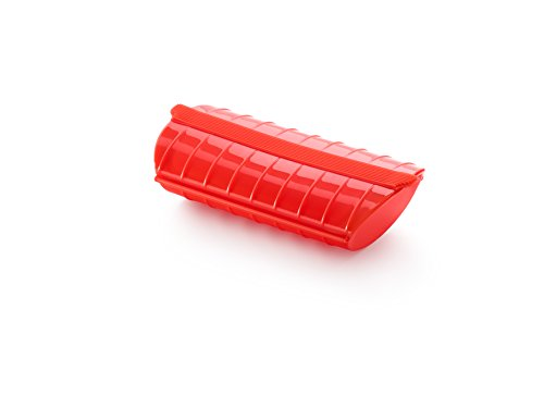 Lékué-Dampfbox, 1-2 Personen, rot