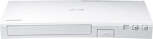 Samsung BD-J5500E 3D Blu-ray Player (Curved Design, HDMI, USB) weiß