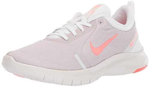 Nike Women's Flex Experience Run 8 Shoe, Summit White/Lava Glow-Atmosphere Grey, 5 Regular US