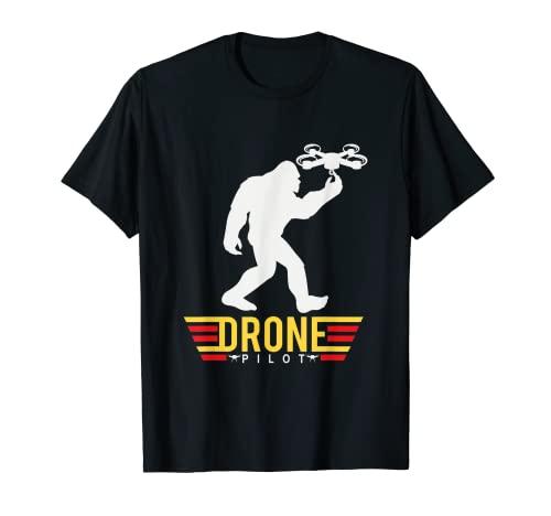 Pie grande piloto de dron el mejor piloto Camiseta