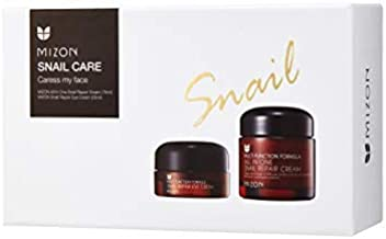 Korean Skin Care Set: Face and Eye Cream Skincare Set, All in One Snail Repair Cream (75ml) and Snail Repair Eye Cream (25ml)   Facial Moisturizer, Eye Cream for Wrinkless and Dark Circles