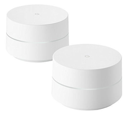 Google Mesh Wi-Fi Router Whole Home System, White,...