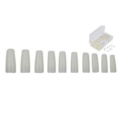 faux ongles capsules standard x 500 naturels nancy beaute