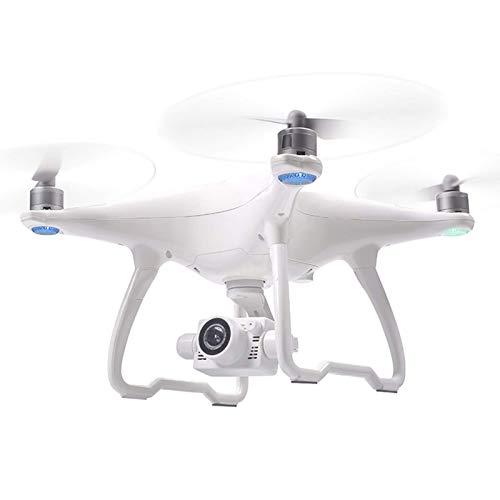 J-Love Drone 4K con Doppia Fotocamera Regolabile elettrica Dual GPS UAV HD Aircraft, 5G WiFi FPV Drone Senza spazzole, Supporto a Doppia Batteria 50 Minuti di Volo Continuo