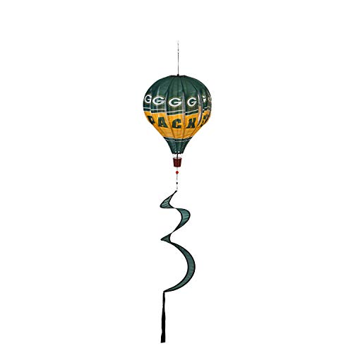 Team Sports America NFL Green Bay Packers Stunning Outdoor Balloon Spinner - 12