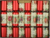 Robin Reed 8 X 10 English Christmas Crackers Party Favors Holiday Ornaments