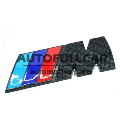 Logo B M W Emblem M Aluminium Carbon Schwarz