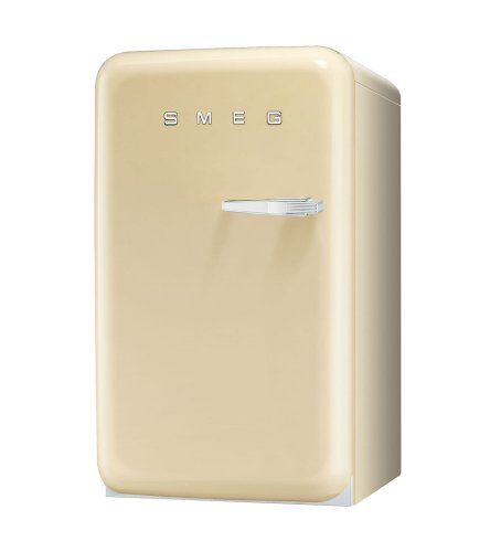 Smeg FAB10LP - Nevera combi (Independiente, Cream, Left, 114 L, 120 L, SN)