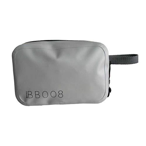 Más fuerza – Bolsa impermeable de 1 litro de Tarpaulin 500D de PVC. BB008 - GY gris impermeable 1 litro