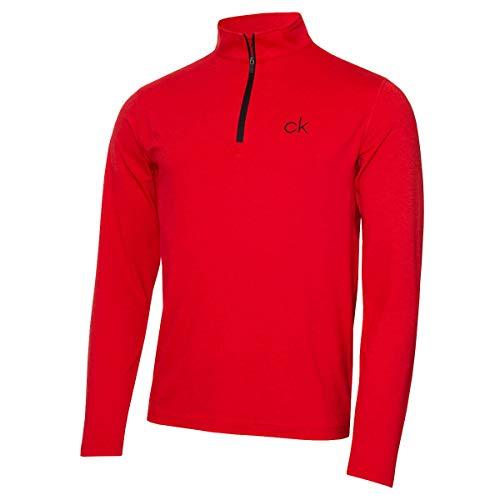 Calvin Klein Męska koszulka golfowa Newport Half Zip