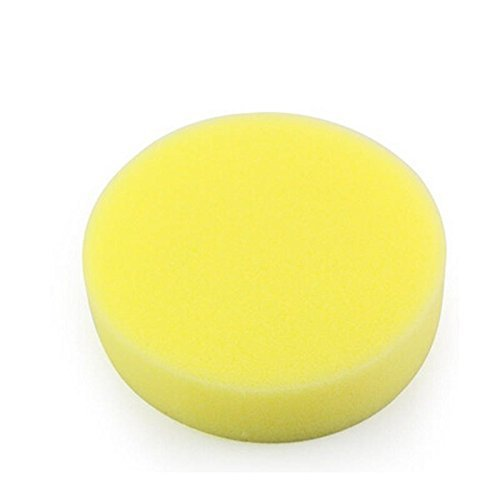 COMIART 6Pcs Round Synthetic Artist Brushe Sponges for Polymer Clay Painting Pottery Crafts