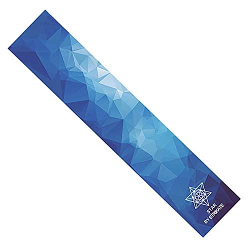 BRICOLAJE Patinea Profesional Tapeo de agarre No-burbujas Impermeable Longboard Longboard Papel de lijado Deportes al aire libre Rolling Board Protector Etiqueta engomada ( Color : Five-dimensional )