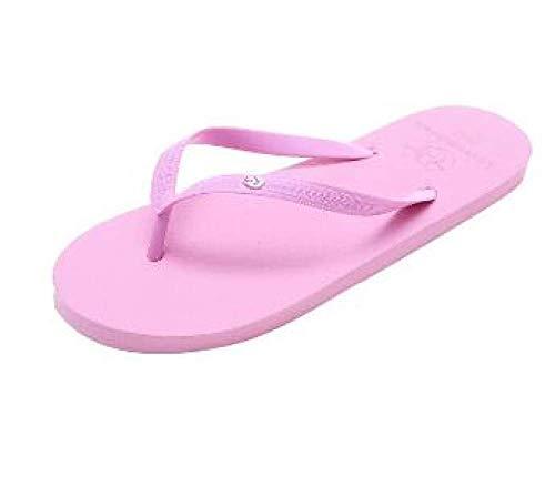 GAODAYU des Sandales Dames Pantoufles Gilrs été Animal Couleur Unie Pantoufles de Plage Pantoufles antidérapantes Chaussures de Sport Chaussures de Maison Dames, Lavande, 36