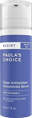 Paula's Choice Resist Anti Aging Antioxidant Serum - Anti Falten Serum mit Vitamin C & E für Gesicht - Bekämpft Hautalterung & Repariert Sonnenschäden - Normale bis Trockene Haut - 30 ml