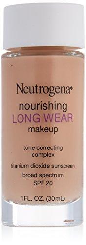 Neutrogena Nourishing Long Wear Liquid Makeup SPF 20, Natural Ivory, 1 Fluid Ounce (Pack of 36)