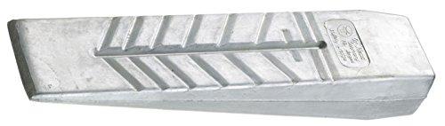 Ochsenkopf Alu-Massivkeil, Geschmiedeter Sicherheitskeil, Zum Fällen und Spalten, KWF-Profi Qualität, Hubhöhe 35 mm