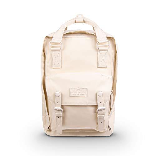 Doughnut Macaroon Nature Pale Series 16L Travel School Ladies College Girls Lightweight Commuter Casual Daypacks Bag Backpack (Hazy)