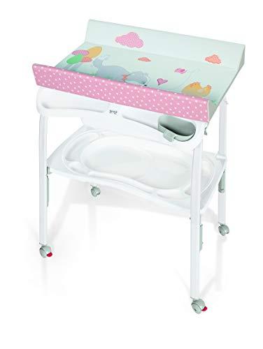 Brevi 596-659 Pratico Table à langer pliable Nino & Nina