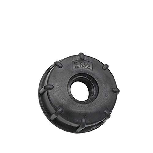 1/2' 3/4' herramientas de conexión 1' Rosca hembra de reemplazo adaptador del tanque IBC El agua del grifo de la válvula Conectores Decoración de jardín de riego Jardinería Riego ( Color : Black1/2' )