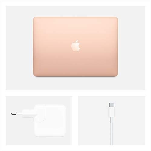 2020 Apple MacBook Air (13, 1,1GHz Quad-core Intel Corei5 Prozessor der 10.Generation, 8GB RAM, 512GB) - Gold