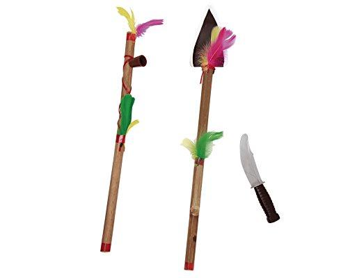 Desconocido My Other Me - Hacha, pipa y cuchillo de indio, talla única (Viving Costumes MOM01512)