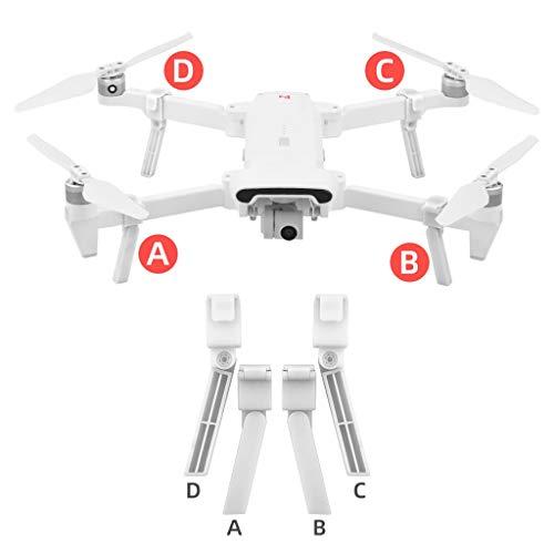 Soporte para Drones 4X, Chshe ™, Accesorios para Drones Tren De Aterrizaje Con Amortiguador TríPode De ElevacióN Extendido para Dron Xiaomi Fimi X8 Se(B)