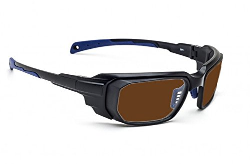 Laser Safety Glasses with IPL Brown Contrast Enhancement - Model 16001