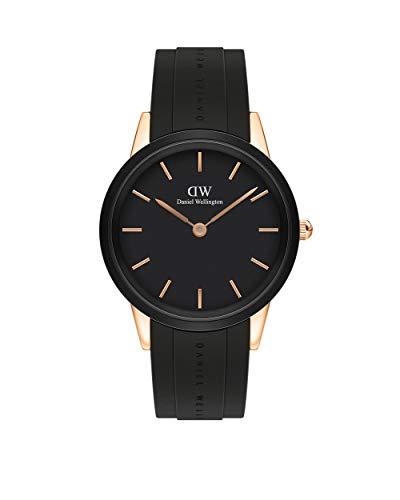Orologio Daniel Wellington Iconic Motion Oro Rosa Nero 40mm DW00100425