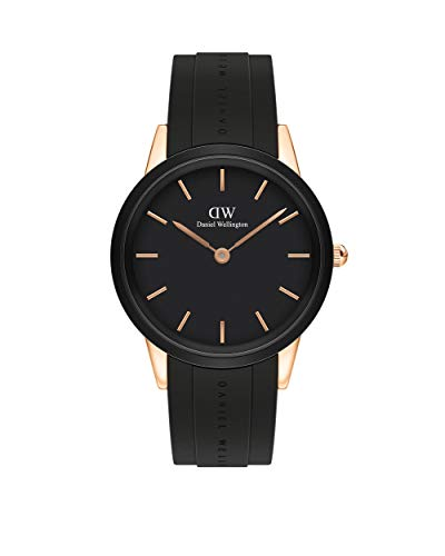 Uhren Daniel Wellington Iconic Motion Rose Gold Black 40mm DW00100425