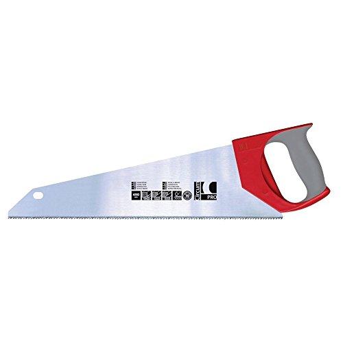 Circumpro 4333097011281sega a mano con 2-component-handle, argento/rosso, 450mm