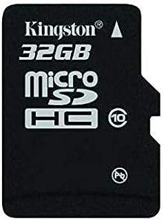 كينغستون بطاقة ذاكرة 32 جيجا كلاس 10 مايكرو اس دي اتش سي