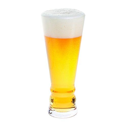 Dartington Crystal - Bicchiere per birra artigianale Pilsner Lager, trasparente