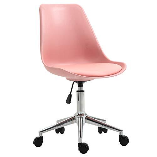 SVITA ED Schreibtischstuhl für Kinder Drehstuhl Kinderschreibtischstuhl Rosa