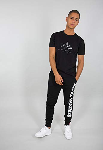 Alpha Industries Big Letters Jogginghose Schwarz L